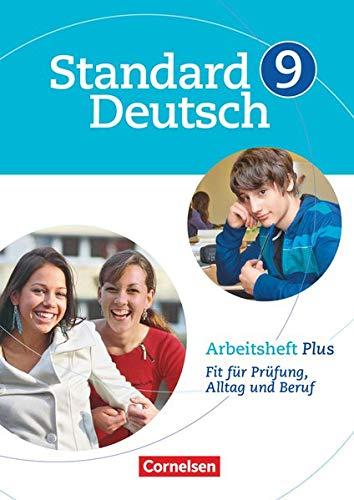 9783060618118: Standard Deutsch 9. Schuljahr. Arbeitsheft Plus