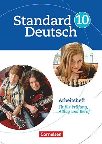 9783060618125: Standard Deutsch 10. Schuljahr. Arbeitsheft: Fit für Prüfung, Alltag und Beruf