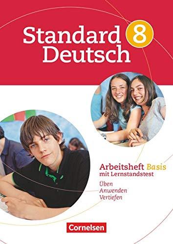 9783060618163: Standard Deutsch 8. Schuljahr. Arbeitsheft Basis