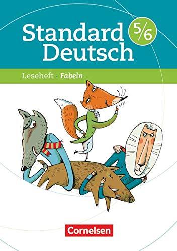 9783060618385: Standard Deutsch 5./6. Schuljahr. Fabeln: Leseheft mit Lösungen