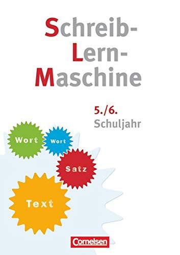 Schreib-Lern-Maschine 5./6. Schuljahr. Arbeitsheft mit Lösungsheft