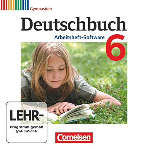 9783060619702: Deutschbuch 6. Schuljahr. Übungs-CD-ROM zum Arbeitsheft. Gymnasium