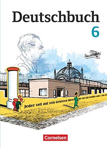 9783060619894: Deutschbuch 6. Schuljahr. Schülerbuch Gymnasium Östliche Bundesländer und Berlin