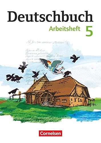 9783060619948: Deutschbuch 5. Schuljahr Gymnasium. Arbeitsheft mit Lösungen. Östliche Bundesländer und Berlin