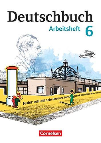 9783060619955: Deutschbuch 6. Schuljahr. Arbeitsheft mit Lösungen. Gymnasium Östliche Bundesländer und Berlin