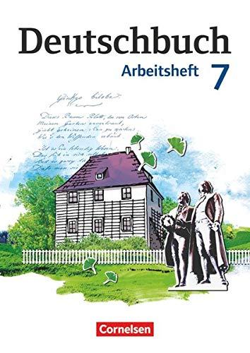 9783060619962: Deutschbuch 7. Schuljahr. Arbeitsheft mit Lösungen. Gymnasium Östliche Bundesländer und Berlin