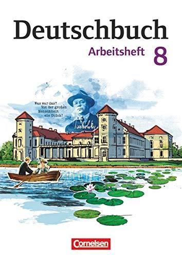 9783060619979: Deutschbuch 8. Schuljahr. Gymnasium - Östliche Bundesländer und Berlin. Arbeitsheft mit Lösungen