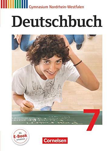 9783060620258: Deutschbuch 7. Schuljahr Gymnasium Nordrhein-Westfalen. Schülerbuch