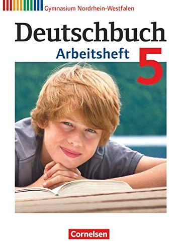 9783060620296: Deutschbuch 5. Schuljahr. Arbeitsheft mit Lösungen. Gymnasium Nordrhein-Westfalen