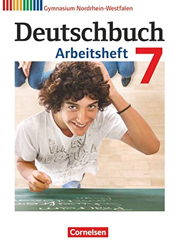 9783060620319: Deutschbuch 7. Schuljahr. Gymnasium Nordrhein-Westfalen. Arbeitsheft mit Lösungen