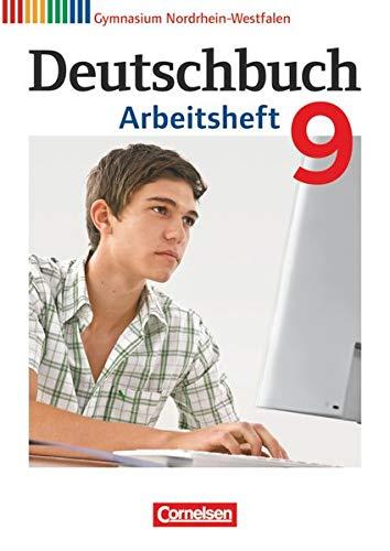 9783060620333: Deutschbuch 9. Schuljahr. Arbeitsheft mit L�sungen. Gymnasium Nordrhein-Westfalen