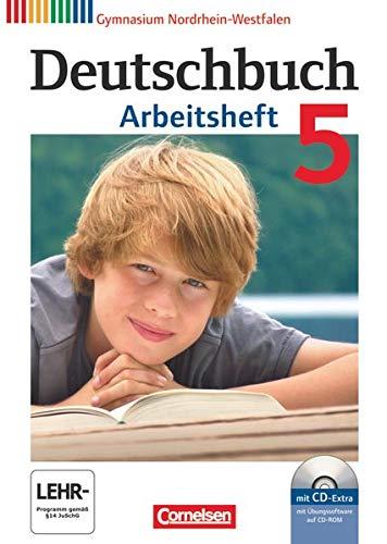 9783060620357: Deutschbuch 5. Schuljahr. Arbeitsheft mit Lösungen und Übungs-CD-ROM. Gymnasium Nordrhein-Westfalen
