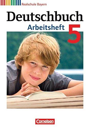 9783060624256: Deutschbuch, Realschule Bayern : 5. Jahrgangsstufe, Arbeitsheft