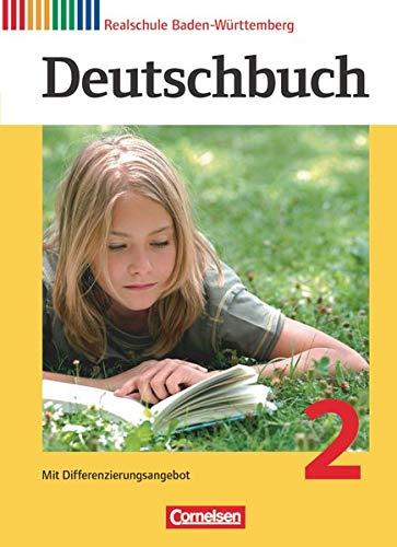9783060624508: Deutschbuch 2: 6. Schuljahr. Schülerbuch Realschule Baden-Württemberg