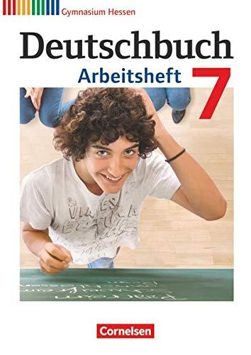 9783060624744: Deutschbuch 7. Schuljahr. Gymnasium Hessen. Arbeitsheft mit Lösungen