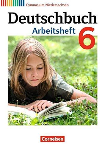 9783060624881: Deutschbuch 6. Schuljahr. Arbeitsheft mit Lösungen Gymnasium Niedersachsen