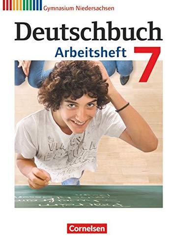 9783060624898: Deutschbuch 7. Schuljahr. Gymnasium Niedersachsen. Arbeitsheft mit Lösungen