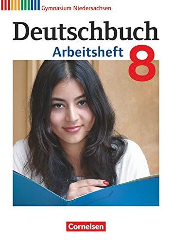 9783060624904: Deutschbuch Gymnasium 8. Schuljahr. Arbeitsheft mit Lösungen. Niedersachsen