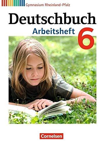 9783060625079: Deutschbuch 6. Schuljahr. Arbeitsheft mit Lösungen. Gymnasium Rheinland-Pfalz