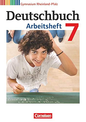 9783060625086: Deutschbuch 7. Schuljahr. Arbeitsheft mit Lösungen. Gymnasium Rheinland-Pfalz