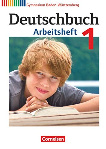 9783060626434: Deutschbuch 1: 5. Schuljahr. Arbeitsheft mit Lösungen. Gymnasium Baden-Württemberg