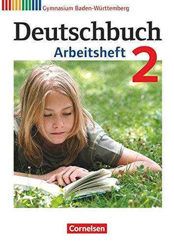 9783060626441: Deutschbuch 02: 6. Schuljahr. Arbeitsheft mit Lösungen. Gymnasium Baden-Württemberg