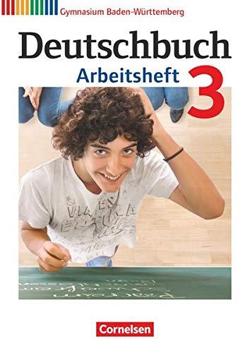 9783060626458: Deutschbuch Gymnasium 3: 7. Schuljahr. Arbeitsheft mit Lösungen. Baden-Württemberg