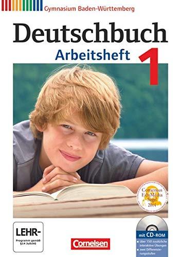 9783060626496: Deutschbuch Baden-wurttemberg: Deutschbuch 1 Arbeitsheft MIT Cd-rom Baden-wurttemberg