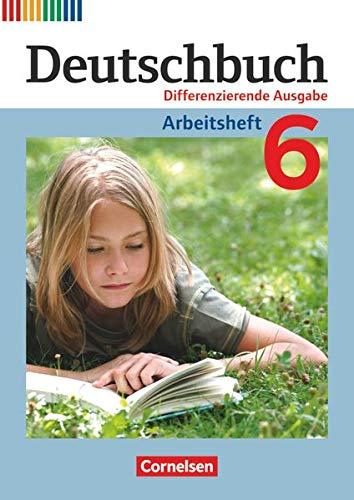 9783060626687: Deutschbuch 6. Schuljahr. Arbeitsheft mit Lösungen