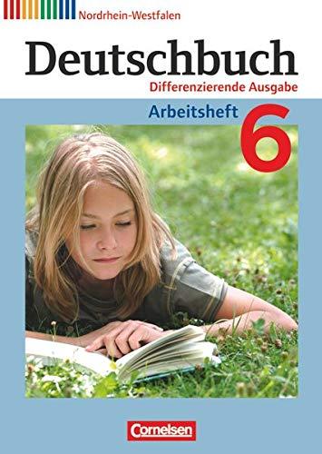 9783060627127: Deutschbuch 6. Schuljahr. Arbeitsheft mit Lösungen. Nordrhein-Westfalen