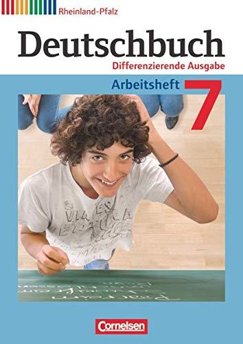 9783060628803: Deutschbuch 7. Schuljahr. Arbeitsheft mit Lösungen. Differenzierende Ausgabe Rheinland-Pfalz