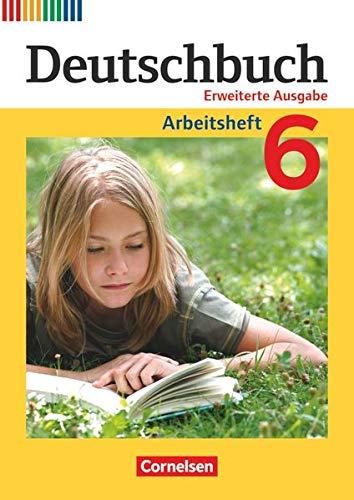 9783060629473: Deutschbuch 6. Schuljahr. Arbeitsheft mit Lösungen
