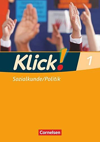 9783060640386: Klick! Sozialkunde, Politik 1. 5./6. Schuljahr Arbeitsheft