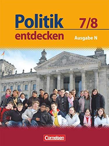 9783060640447: Politik entdecken 7./8. Schuljahr. Schulerbuch. Realschule Niedersachsen