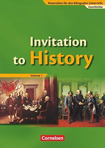 9783060642632: The Bilingual History Book 1. Schülerband. Realschule und Gymnasium: From the American Revolution to the First World War. Materialien für bilinguale Klassen Sekundarstufe I