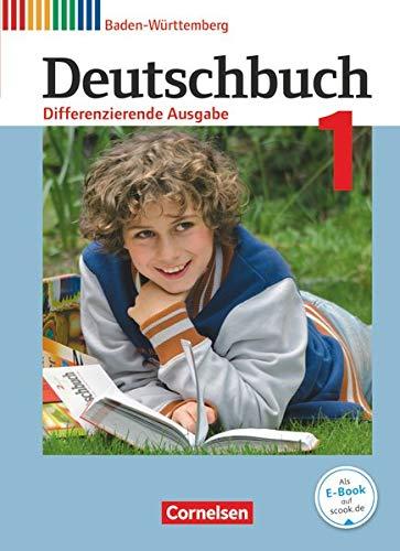 9783060673629: Deutschbuch Band 1: 5. Schuljahr zum Bildungsplan 2016. Realschule Baden-Württemberg - Schülerbuch