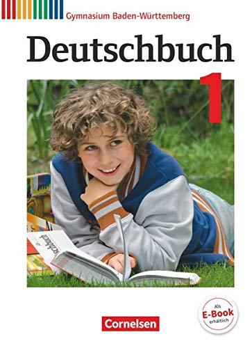 9783060674213: Deutschbuch Gymnasium Band 1: 5. Schuljahr - Bildungsplan 2016 - Baden-Württemberg - Schülerbuch