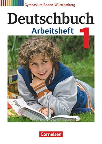 9783060674244: Deutschbuch Gymnasium Band 1: 5. Schuljahr - Bildungsplan 2016 - Baden-Württemberg - Arbeitsheft mit Lösungen