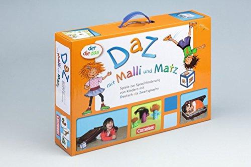 9783060800902: KiTa-Förderboxen: der-die-das - DaZ mit Malli und Matz: Spiele zur Sprachförderung von Kindern mit Deutsch als Zweitsprache