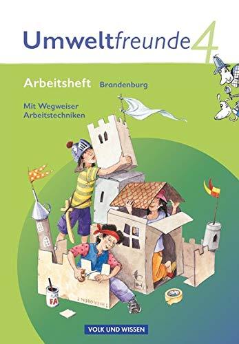 9783060807017: Umweltfreunde 4. Schuljahr. Arbeitsheft Brandenburg