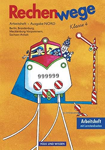 9783060807833: Rechenwege 4. Arbeitsheft mit CD-ROM. Neubearbeitung. Ostliche Bundeslander (Nord)