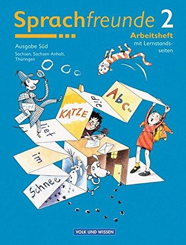 9783060808021: Sprachfreunde 2 . Arbeitsheft. Neubearbeitung. Östliche Bundesländer - Süd