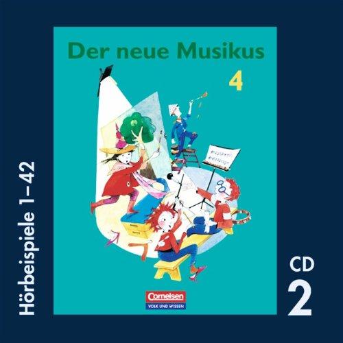 9783060809493: Der neue Musikus 4. Schuljahr. Hörbeispiele 1-42. CD 2
