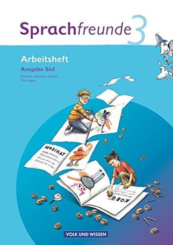 9783060809691: Sprachfreunde 3. Schuljahr. Neubearbeitung 2010. Ausgabe Süd (Sachsen, Sachsen-Anhalt, Thüringen). Arbeitsheft: Mit Lernstandsseiten