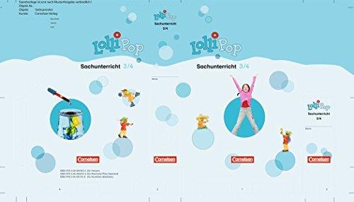 9783060810833: LolliPop Sache 3./4. Schuljahr. Raum. Themenheft 1-6 für Hessen: Stehsammler Sachunterricht