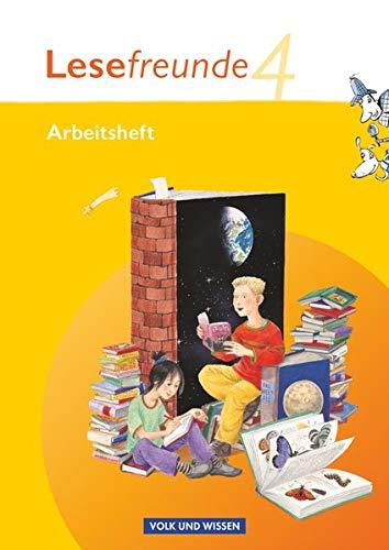 9783060811564: Lesefreunde 4. Schuljahr. Arbeitsheft. Östliche Bundesländer und Berlin