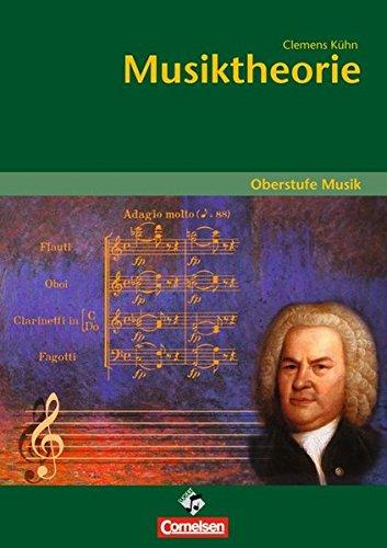 9783060812288: Oberstufe Musik. Musiktheorie: Arbeitsheft