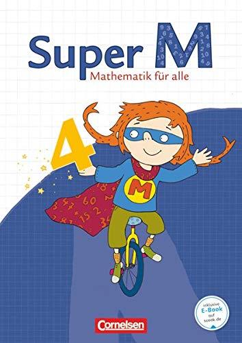 9783060813407: Super M 4. Schuljahr. Schülerbuch mit Kartonbeilagen. Westliche Bundesländer