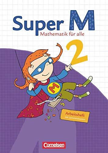 9783060813421: Super M 2. Schuljahr. Arbeitsheft mit Lernstandsseiten: Mathematik für alle