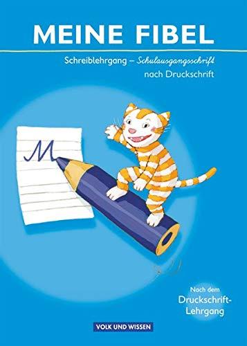 9783060813919: Meine Fibel: Schreiblehrgang in Schulausgangsschrift nach Druckschrift